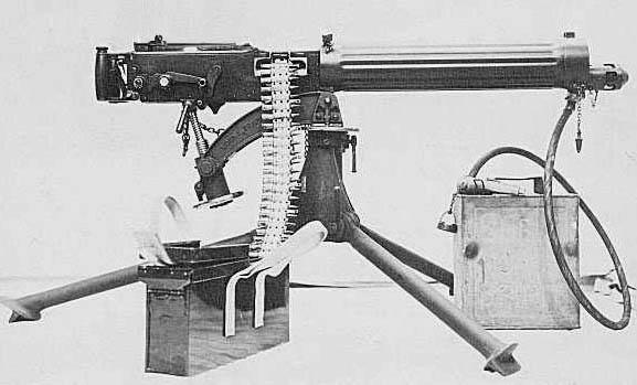 Les armes de l'infanterie: Les mitrailleuses. 610646MG_Vickers1