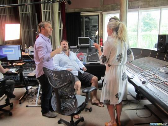 Gary au studio Real World rejoignant le projet lotus 06.10 614784xrkxz7f49d5c6o9la0trj_s