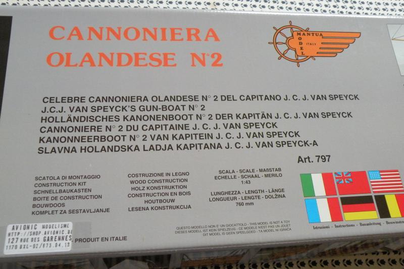 Canonnière belge (ex Néerlandaise) N°2 Mantua au 1/43  622490DSCN0586