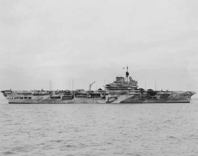 ROYAL NAVY PORTE-AVIONS CLASSE AUDACIOUS 624640HMS_Indomitable