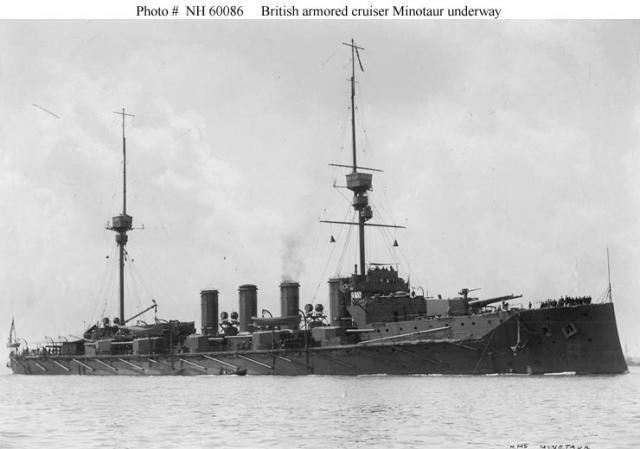 ROYAL NAVY CROISEURS LOURDS CLASSE COUNTY 634523Croiseur_cuirasse_HMS_Minotaur
