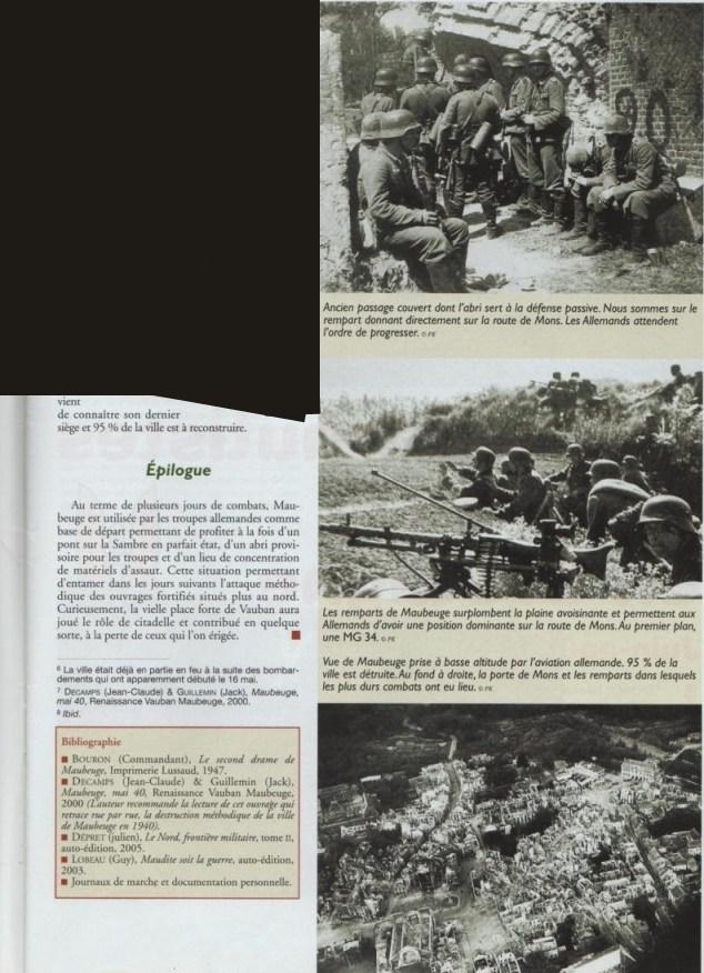 Le second siège de Maubeuge en Mai 1940 6401996