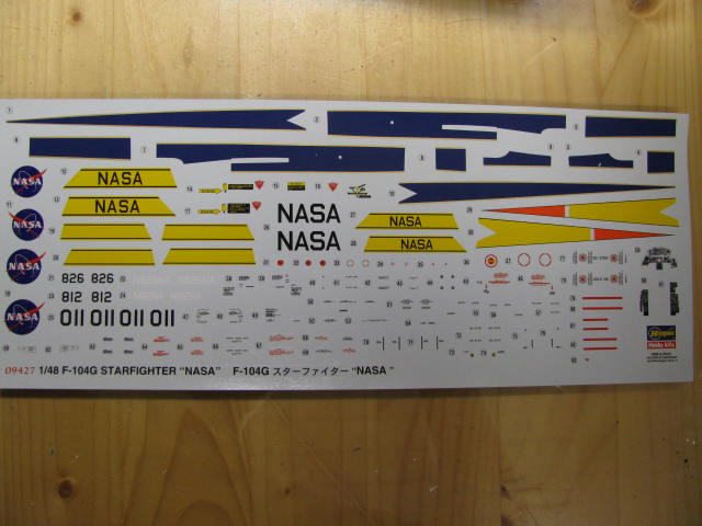 DUO: F-104N (NASA) + F-104G (BAF) Hazegawa 1/48  644139IMG_3152