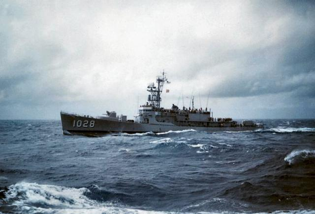 USN DESTROYERS D'ESCORTE CLASSE DEALEY 64796USS_Van_Voorhis