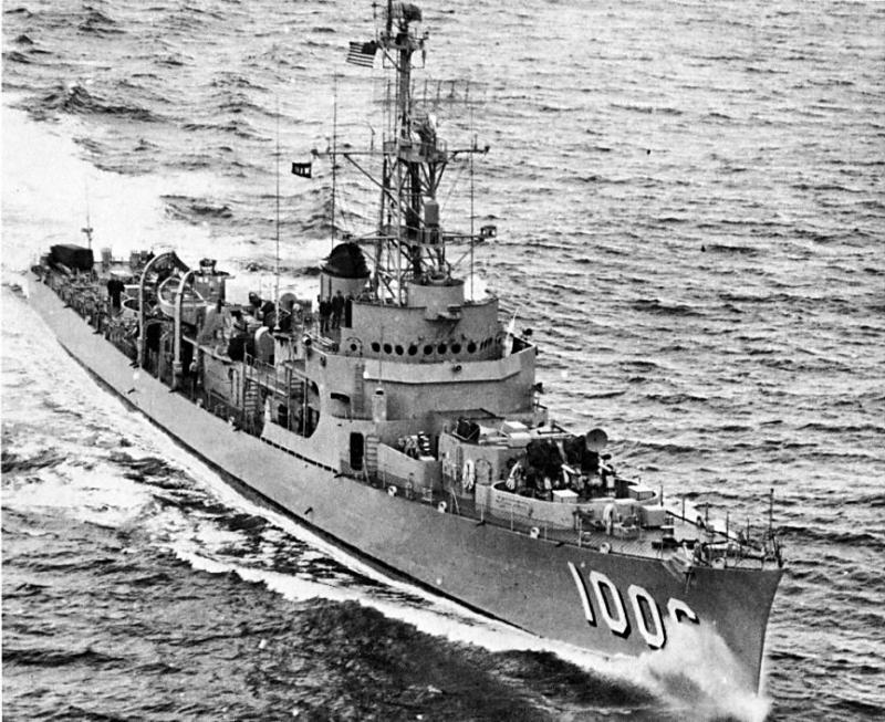 USN DESTROYERS D'ESCORTE CLASSE DEALEY 662855USS_Dealey__DE_1006_