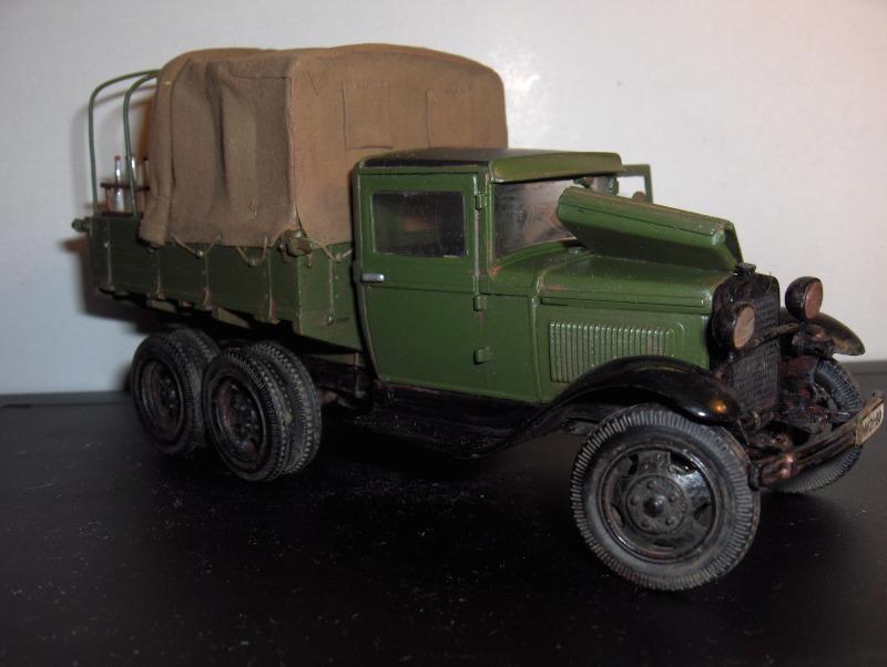 Camion Russe  GAZ-AAA 1934/1943 Zvezda 1/35 terminé!!! 663272HPIM1663