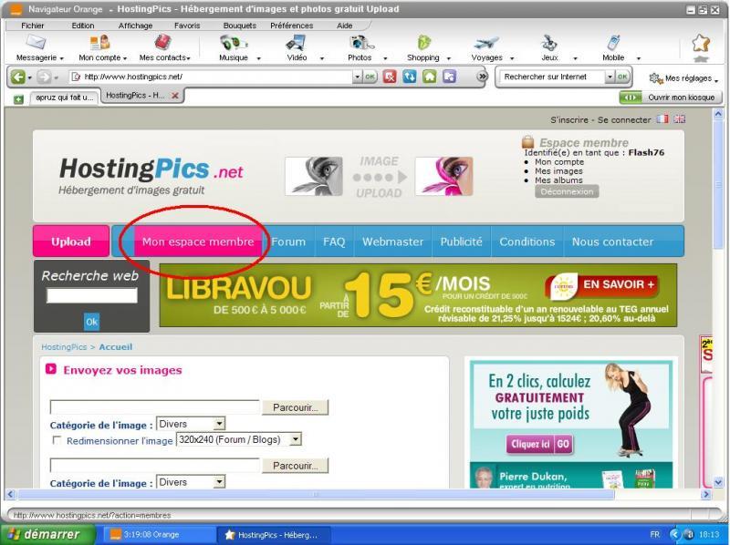 TUTO :  Comment poster des photos sur le forum avec Hostingpics.net 66612tuto1