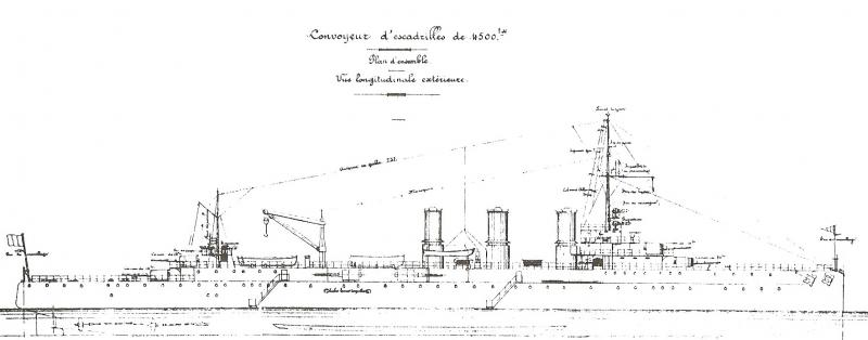 FRANCE CROISEURS LEGERS CLASSE LA GALISSONNIERE  66707Convoyeur_d__Escadrilles