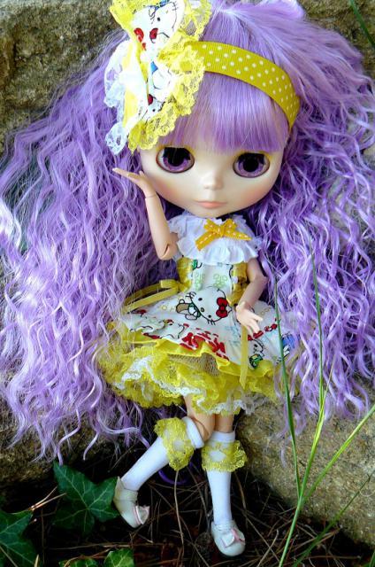 P4 Le Gang des lolitas Rose ♥ Un arc en ciel (PM custo) 670469P1200866