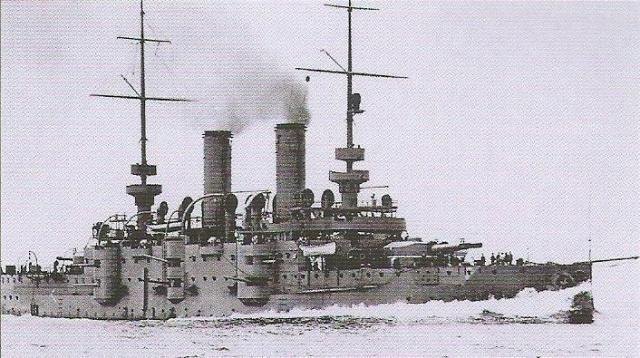 AUTRICHE-HONGRIE CUIRASSES CLASSE TEGETTHOFF 687387Habsburg_class_battleship