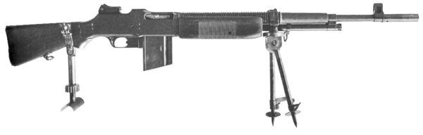 Les armes de l'infanterie: Les mitrailleuses. 705542FM_bar1922
