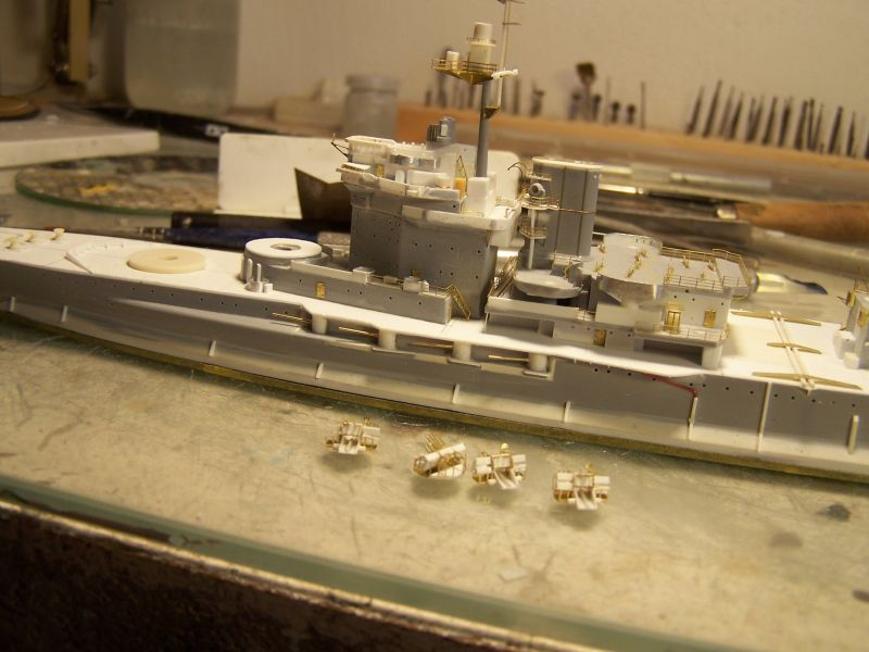 Hms Warspite airfix 1/600 - Page 2 711633hmswarspite069