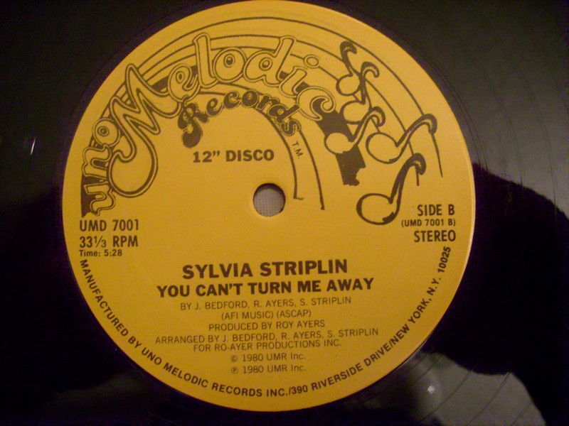 12'-SYLVIA STRIPLIN-GIVE ME YOUR LOVE-1980-UNO MELODIC REC 739566s2