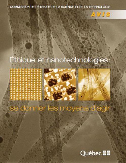 Éthique Et Nanotechnologies 760258ethique