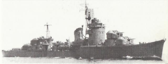 JAPON DESTROYERS CLASSE AKITZUKI 765874Fuyutsuki_mai_1944