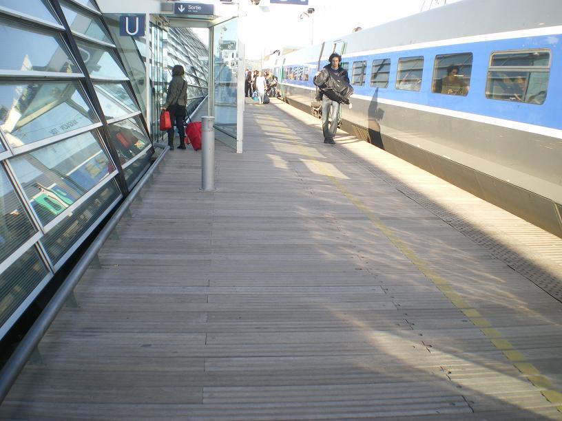 AVIGNON :TGV ,DEMOISELLES ET PONTS PRESENTS MAIS ARLES RESTE MUET CE SOIR 766145IMGP8428