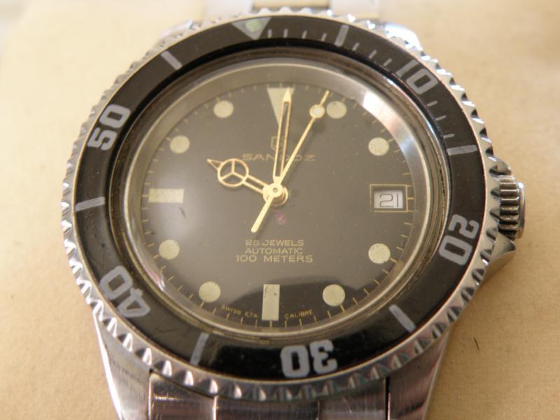 Présentation d une petite Sandoz diver's 100M (petite mamie) 767263P7210160