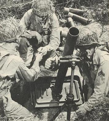 Le mortier de 81mm (Brandt) 770937n81mm1