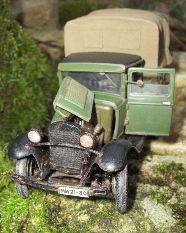 Camion Russe  GAZ-AAA 1934/1943 Zvezda 1/35 terminé!!! 795772HPIM1646