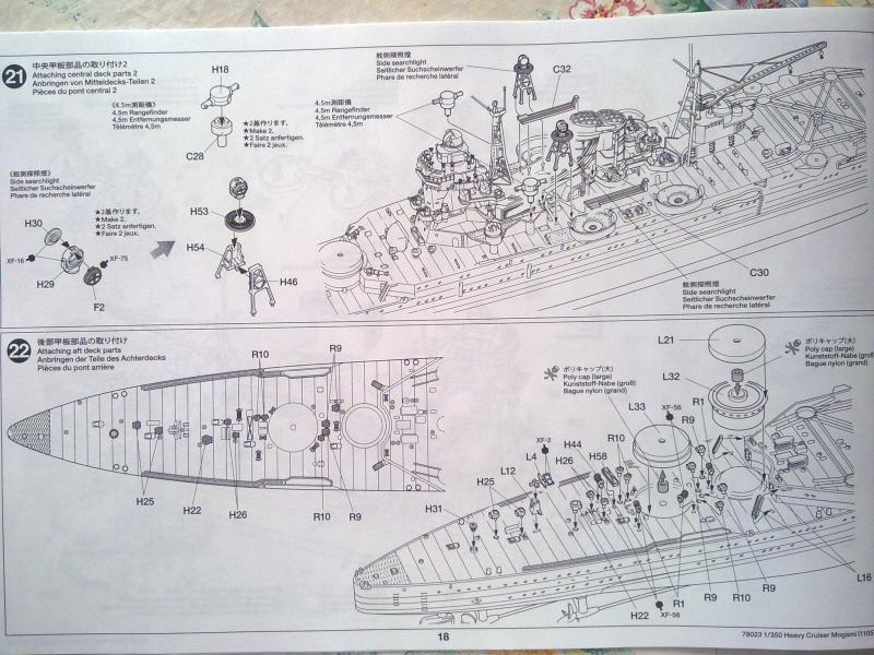 croiseur lourd Mogami au 1/350 par Pascal 94 - Tamiya  80524606092010665