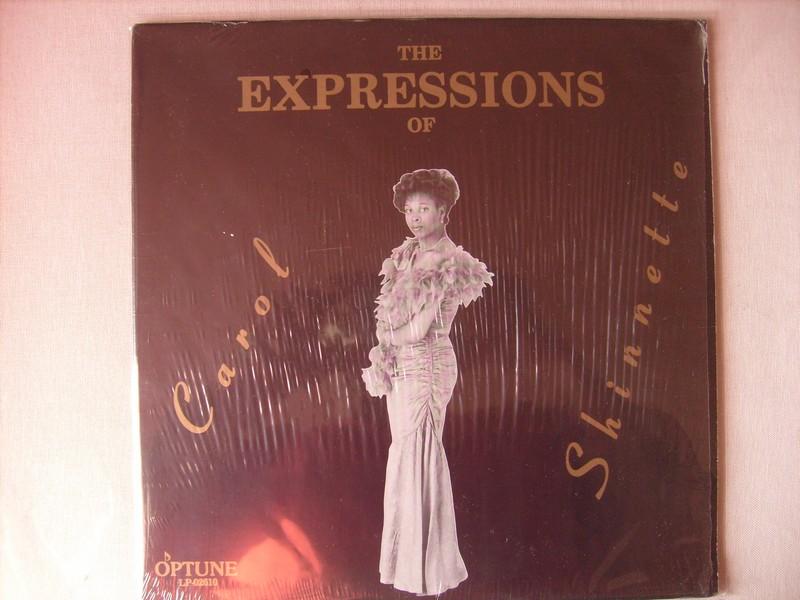 LP-CAROL SHINNETTE-THE EXPRESSIONS OF CAROL SHINNETTE-198? 811358c1