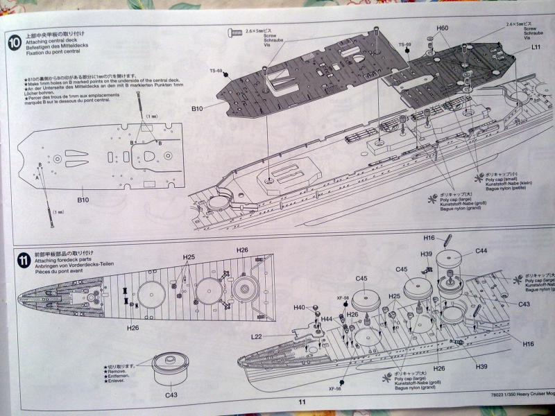 croiseur lourd Mogami au 1/350 par Pascal 94 - Tamiya  81373006092010658