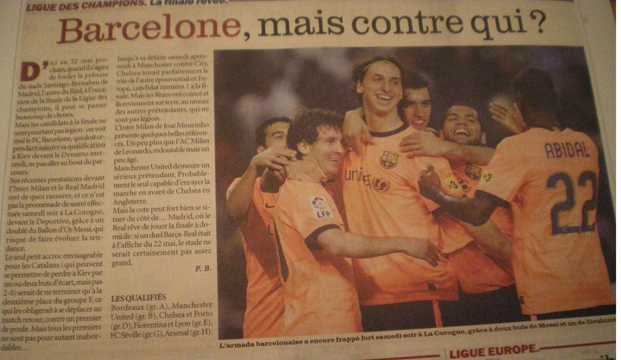 LES CATALANS DU FC BARCELONA DE MARC SABATES //*// - Page 2 819359IMGP9084