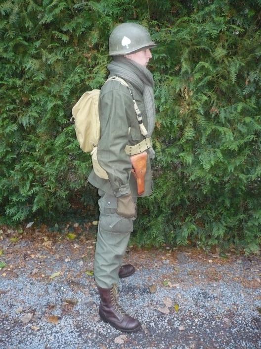 Moi en para (M43 pour Bastogne) 8216322