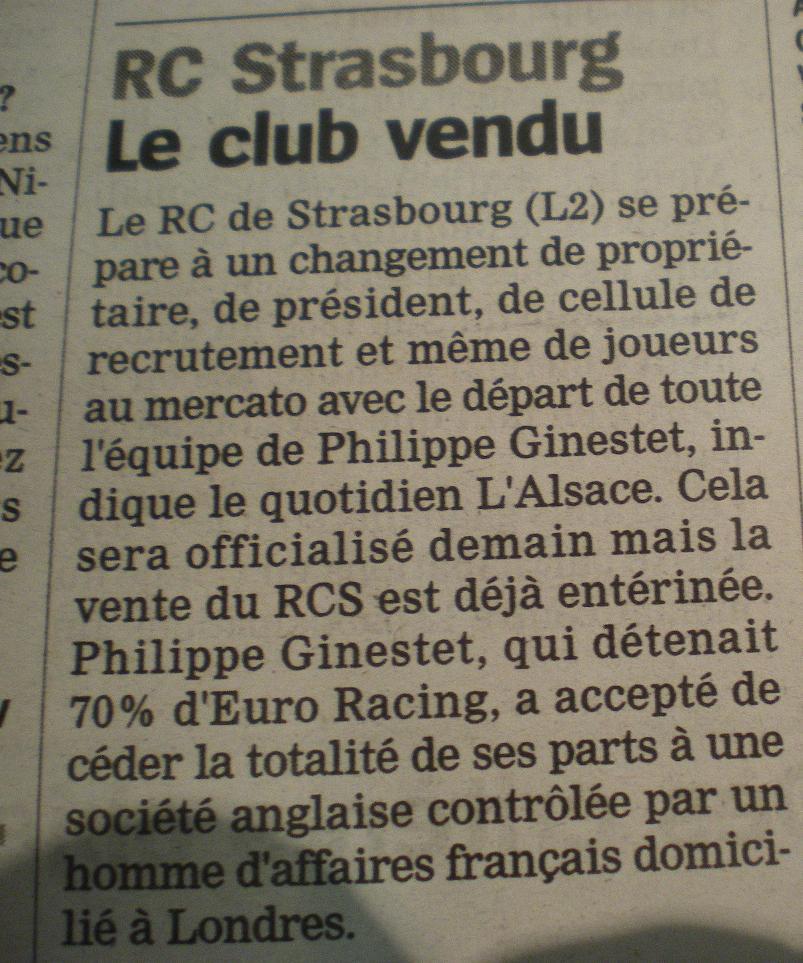 STRASBOURG DE RETOUR  - Page 2 836708IMGP9030
