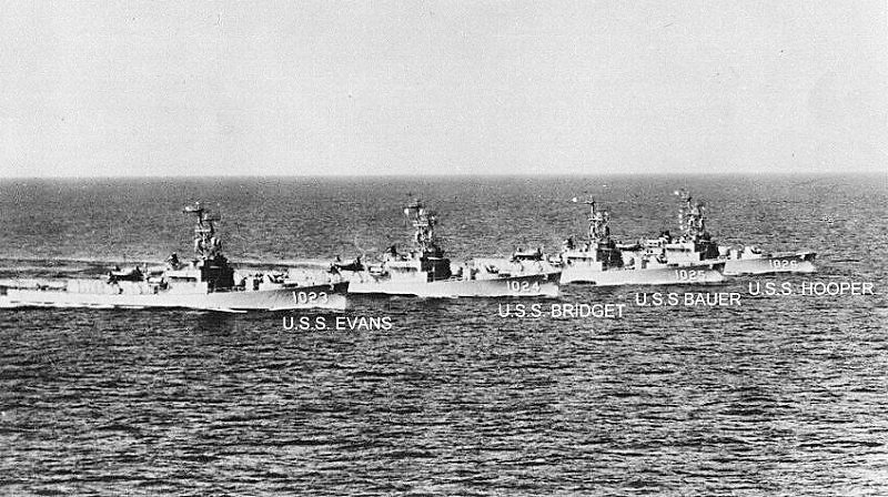 USN DESTROYERS D'ESCORTE CLASSE DEALEY 839795Dealey_class