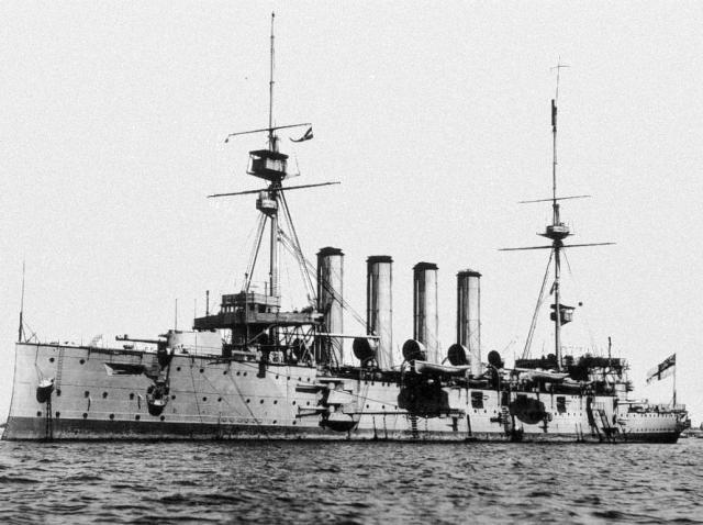 ROYAL NAVY CROISEURS LOURDS CLASSE COUNTY 848972Croiseur_cuirasse_HMS_Cressy