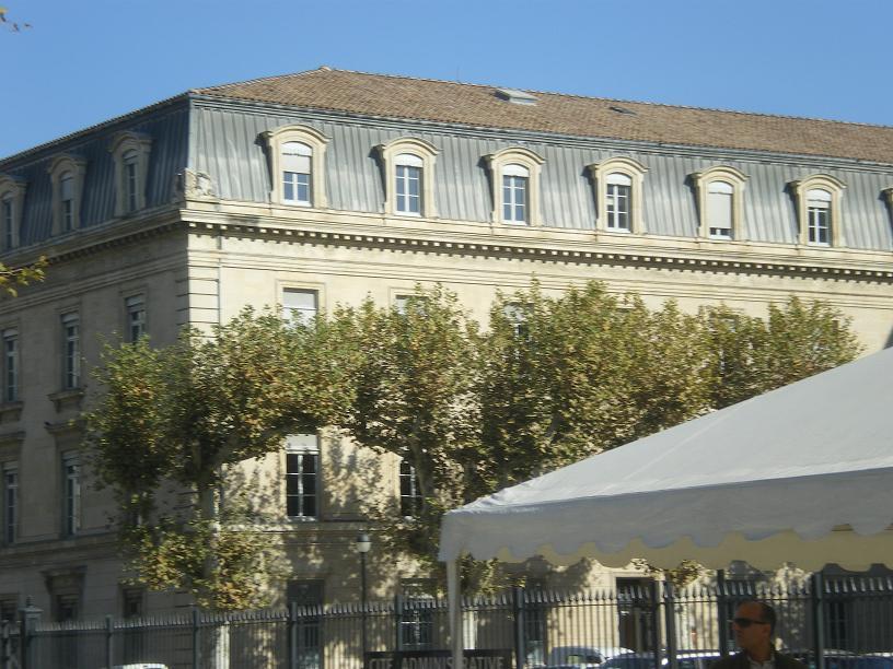 AVIGNON :TGV ,DEMOISELLES ET PONTS PRESENTS MAIS ARLES RESTE MUET CE SOIR 853037IMGP8432