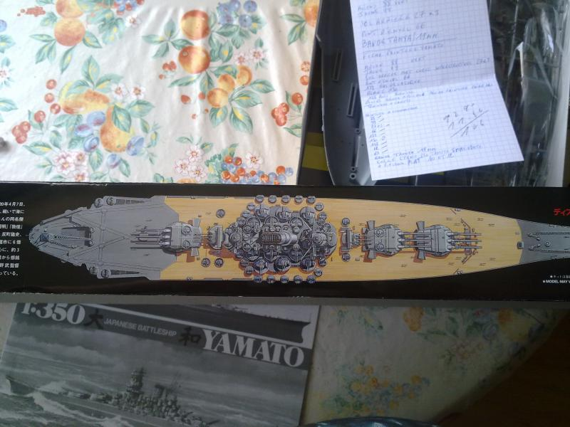 LE YAMATO TAMIYA au 1/350ème de PASCAL 94 892905boite1