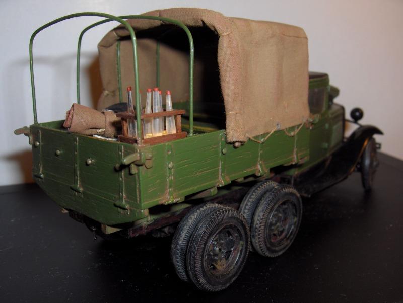 Camion Russe  GAZ-AAA 1934/1943 Zvezda 1/35 terminé!!! 903050HPIM1662