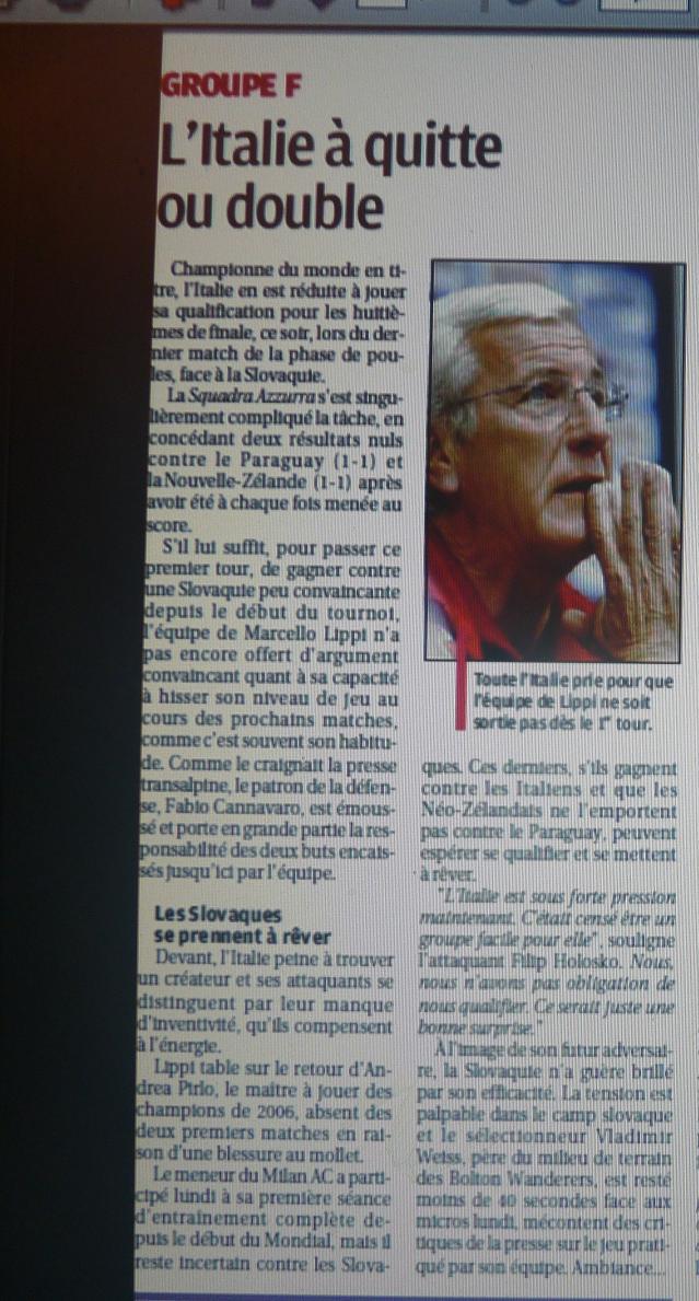 SQUADRA AZZZZZURA  ...ITALIA UN PARFUM DU SUD !!  - Page 2 933709P1090535