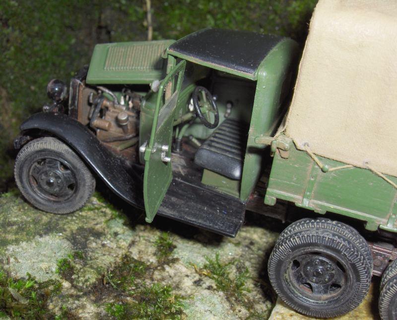 Camion Russe  GAZ-AAA 1934/1943 Zvezda 1/35 terminé!!! 940783HPIM1649