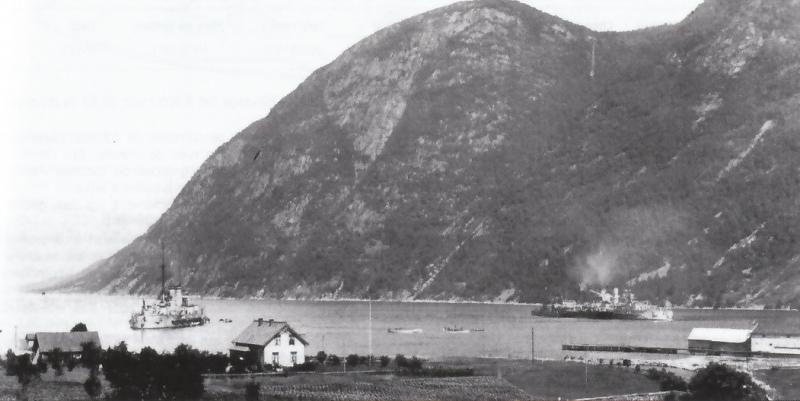 ALLEMAGNE CUIRASSES CLASSE NASSAU 943787Reinland_Posen_Sognefjord_1914