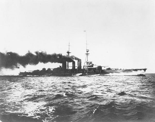 JAPON : CROISEURS DE BATAILLE CLASSE KONGO 955439Haruna_1915