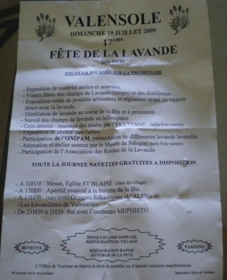 IL ETAIT UNE FOIS ..VALENSOLE - Page 3 957415IMGP5553