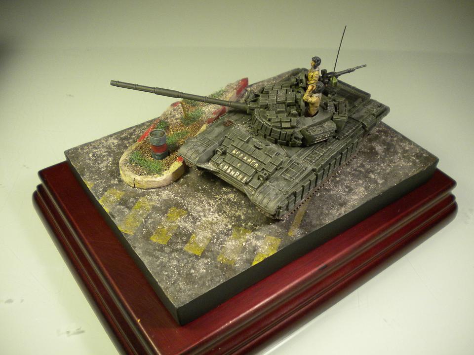 T-72 - Tchétchènie 1995 - 1/72° 9577442