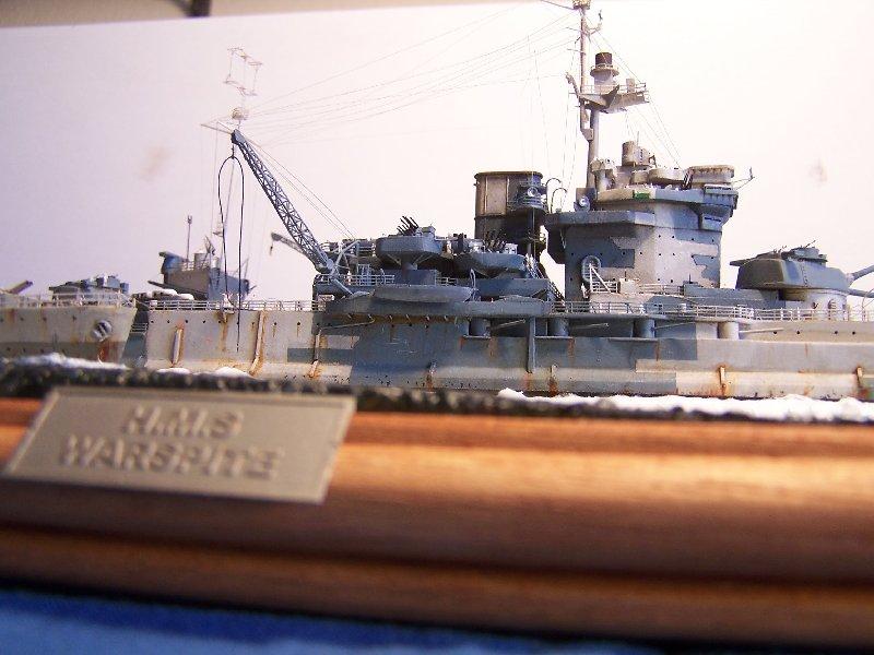 Un petit résumé de mon projet naval Airfix  1/600 960241hmswarspite127