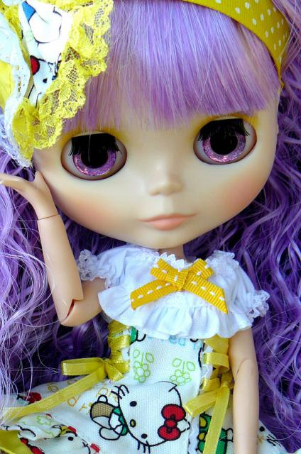 P4 Le Gang des lolitas Rose ♥ Un arc en ciel (PM custo) 964509P1200871