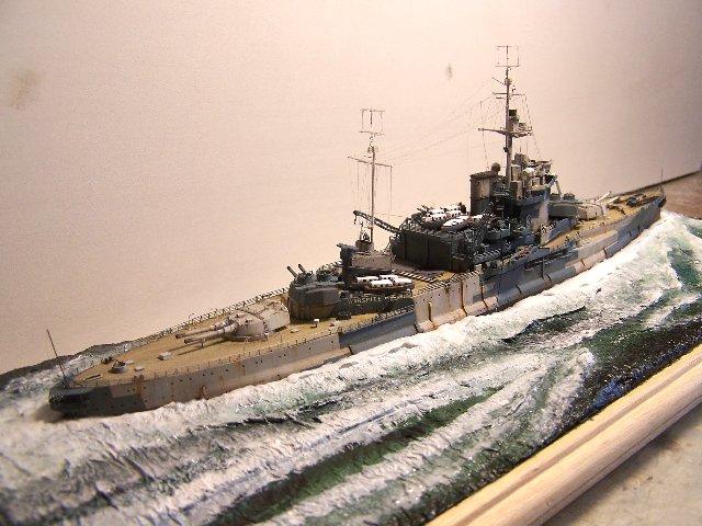 Hms Warspite airfix 1/600 - Page 5 965922hms_Warspite_105