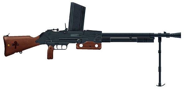 Les armes de l'infanterie: Les mitrailleuses. 967624FM_24_29
