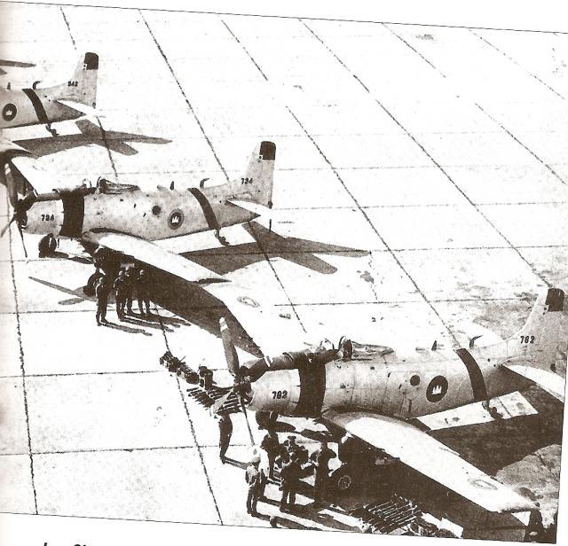 DOUGLAS A-1 SKYRAIDER 981279Skyraider_cambodgiens