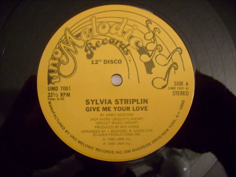 12'-SYLVIA STRIPLIN-GIVE ME YOUR LOVE-1980-UNO MELODIC REC 989011s1