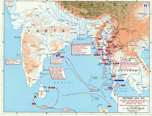 ROYAL NAVY PORTE AVIONS HERMES 99362Raid_ocean_indien