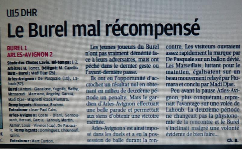 F .C .LE BUREL 994517P1080081
