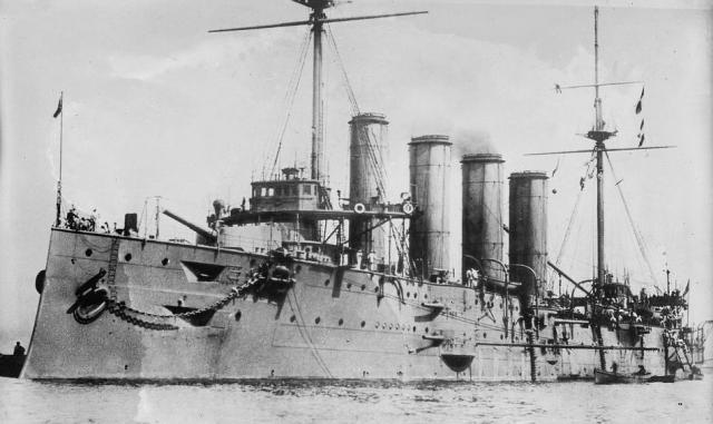 ROYAL NAVY CROISEURS LOURDS CLASSE COUNTY 999551Croiseur_cuirasse_HMS_Leviathan_classe_Drake