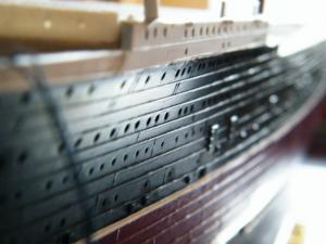 RMS Lusitania (Deluxe Model) - 1:350 - Gunze Sangyo Mini_139638DSCF0858